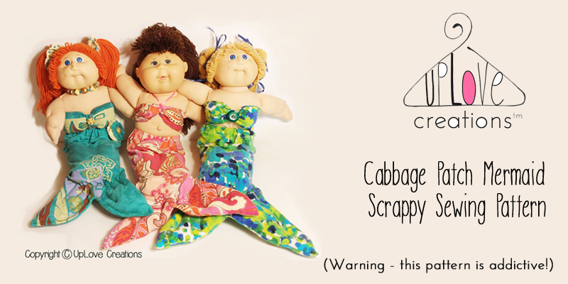 Cabbage Patch Mermaid Pattern