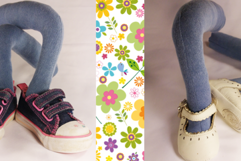 Cute shoes come first . . .