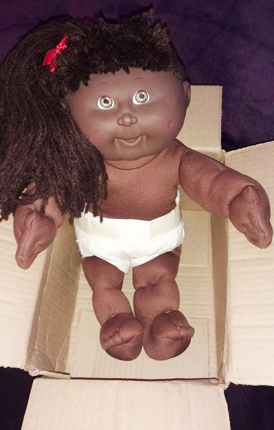 Cabbage Patch Purple Mermaid