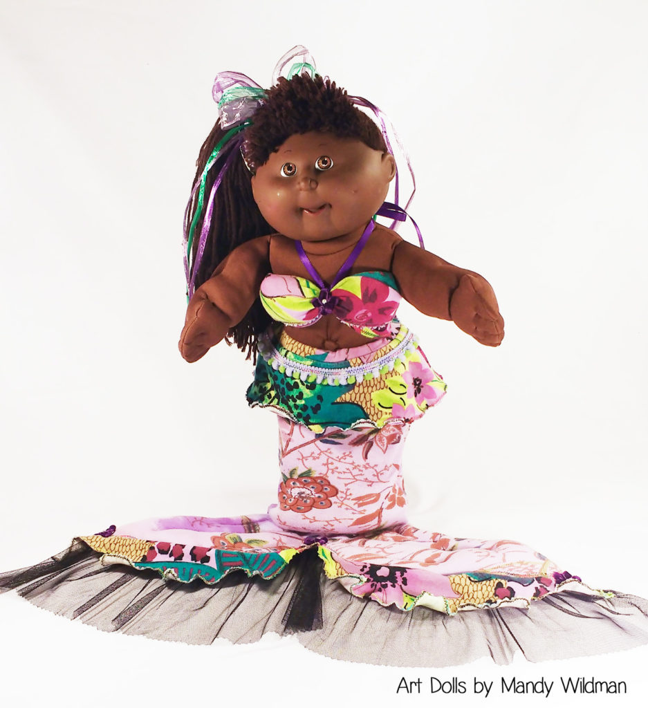 Custom AA Cabbage Patch Doll by Mandy Wildman