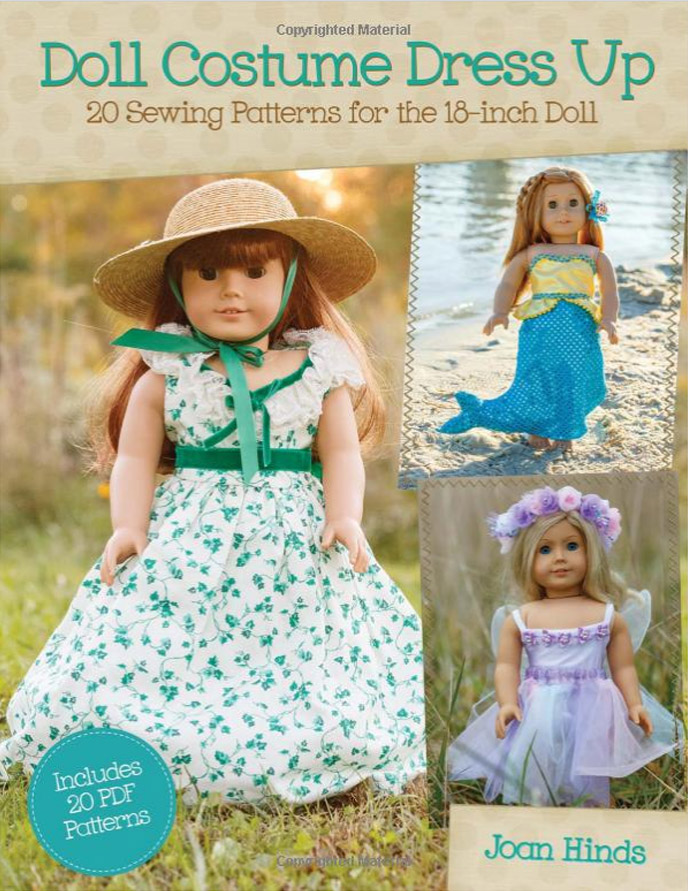 18 inch doll sewing patterns