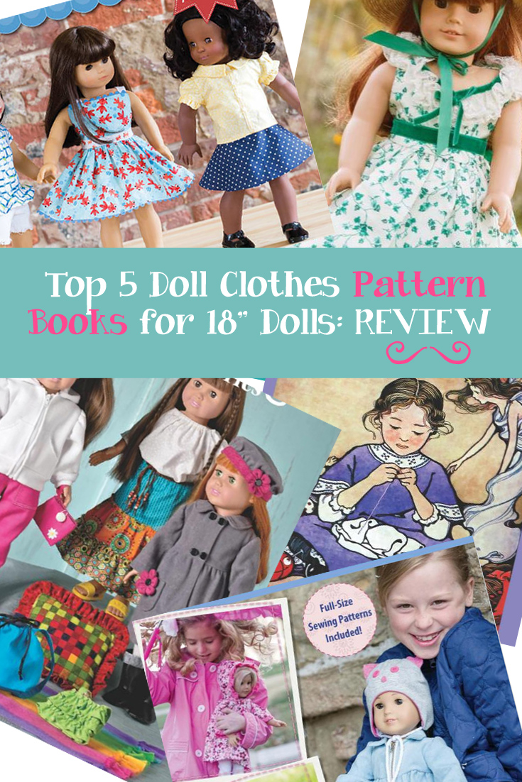Top 5 18 Inch Doll Clothes Pattern Books