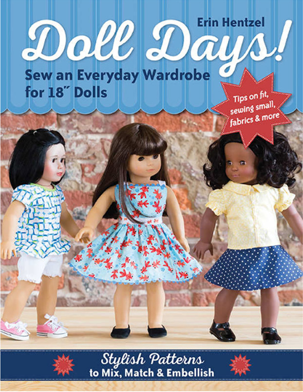 Doll Days 18 Doll Clothing Patterns