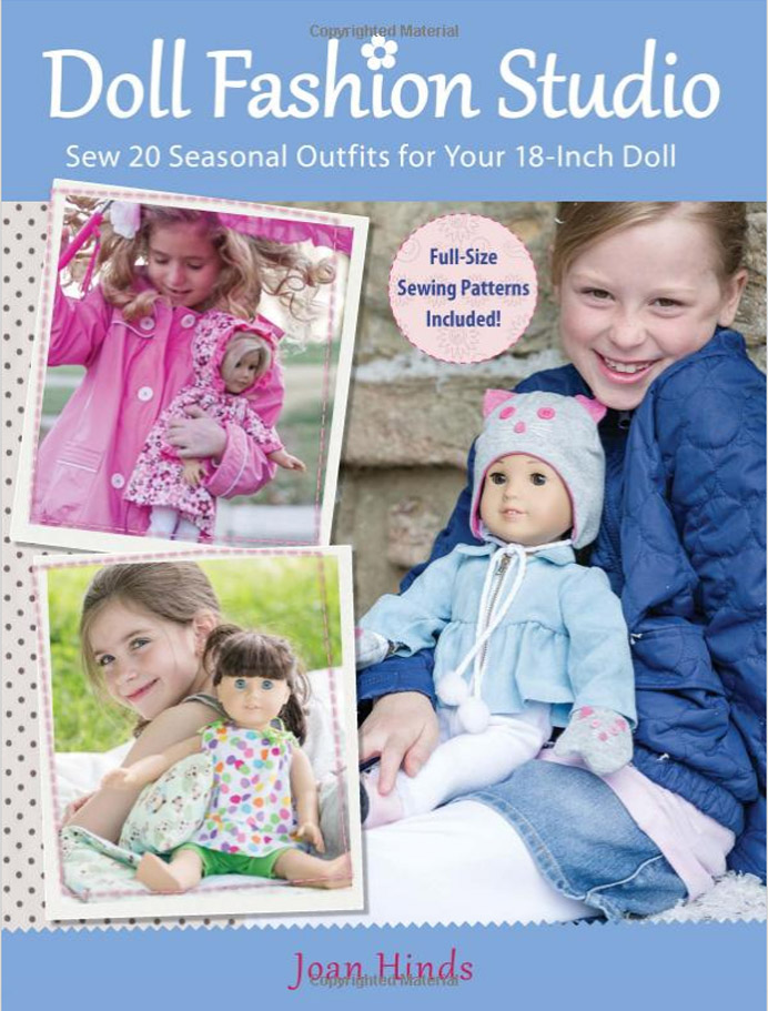 Seasonal Doll Clothes Sewing Patterns Joan Hinds