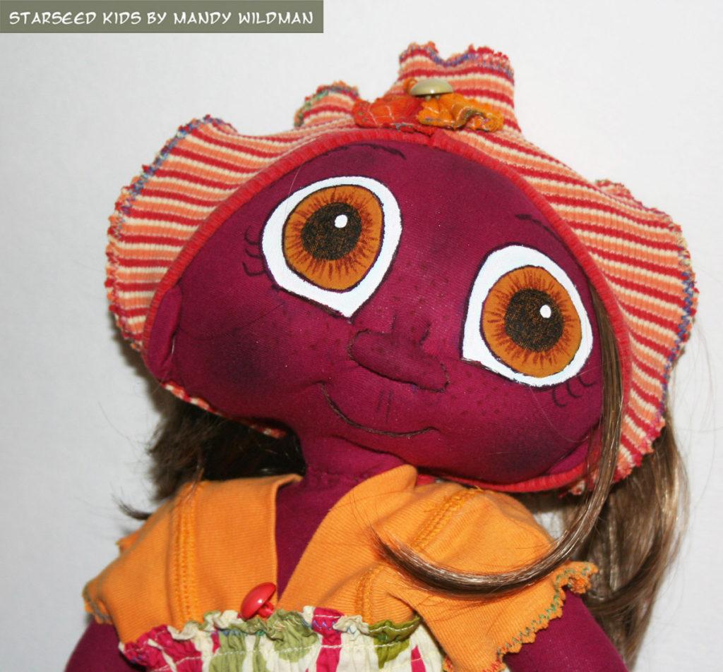 Alien ET Fantasy Doll