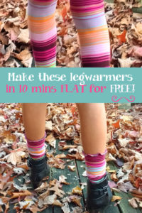 DIY Leg Warmers from Too-Small Tights (Plus Toddler Training Pants and 18 Inch Doll Undies)