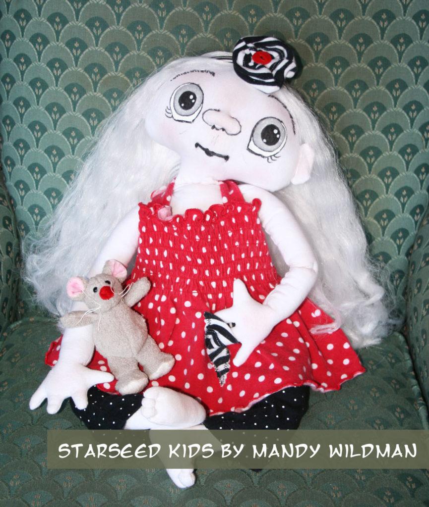Alien ET Baby Doll