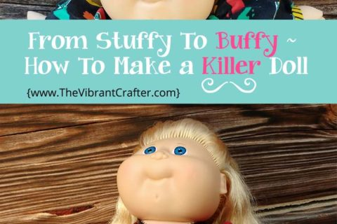 Cabbage Patch Rescue and Customization: Buffy The Vampire Slayer Doll