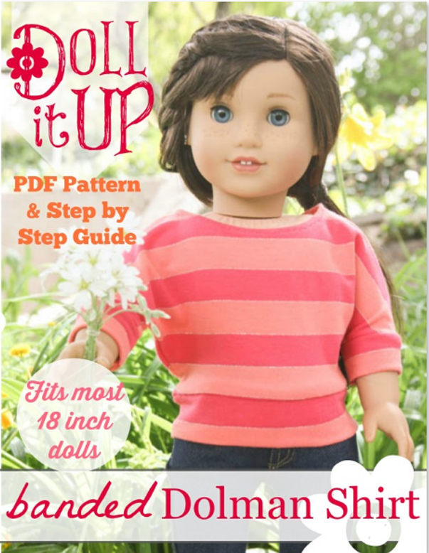Dree dolman top for American Girl doll