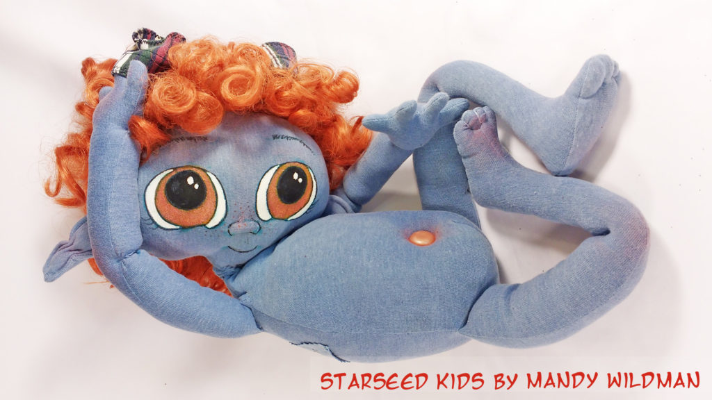 Starseed ET Doll by Mandy Wildman