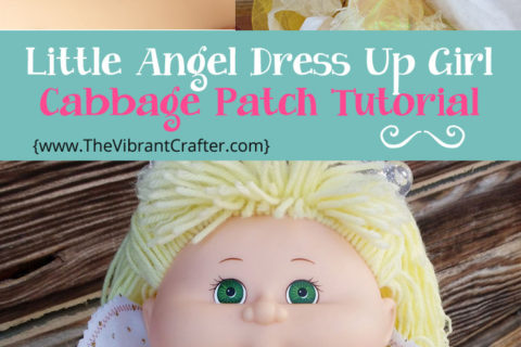 How To Make A Cabbage Patch Angel Doll: Free Tutorial
