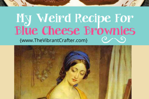 My Weird Holiday Blue Cheese Brownies Recipe – Yum!
