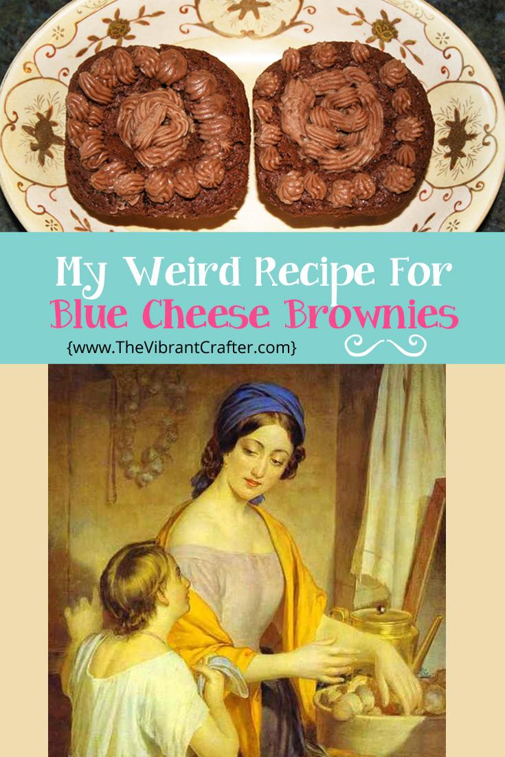 Blue Cheese Brownies Recipe