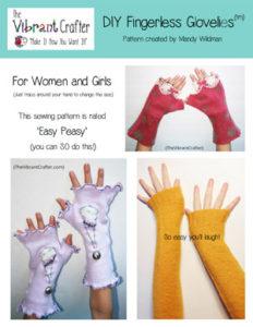 Free Fingerless Glovelies Pattern