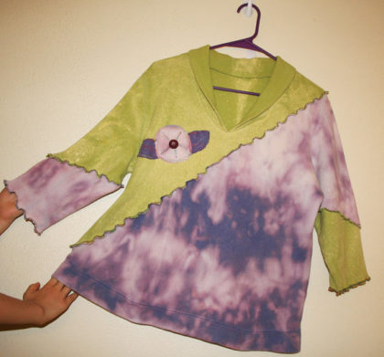 OOAK Handcrafted Blouse