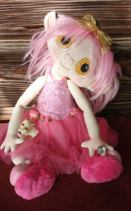 OOAK Fantasy Spirit ET Cloth Doll