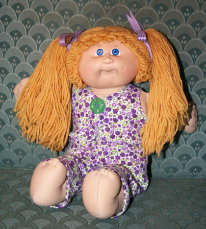 OOAK Vintage Coleco Cabbage Patch Kid Doll