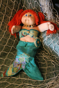 OOAK Vintage Cabbage Patch Kid Mermaid Doll