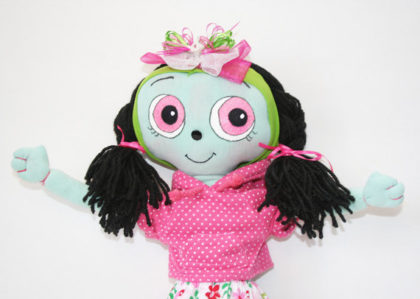 OOAK Handcrafted Cloth Doll