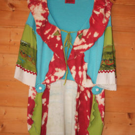OOAK Upcycled Gypsy Boho Tunic Coat