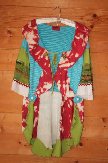 OOAK Upcycled Gypsy Boho Tunic Coat