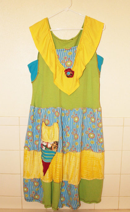 Upcycled Gypsy Pixie Tunic Jumper Dress