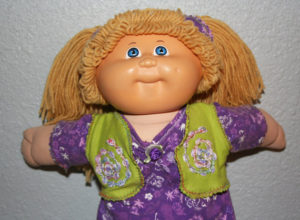 OOAK Vintage Coleco Cabbage Patch Kid Art Doll