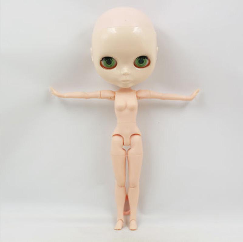 Bald Takara Factory Blythe Doll