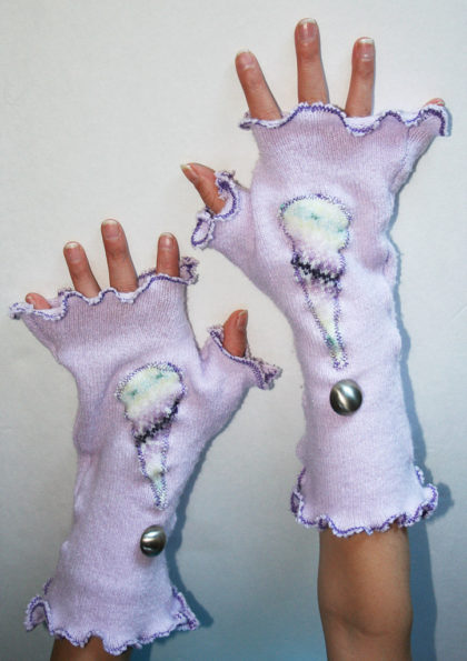 How To Make Fingerless Gloves and Arm Warmers