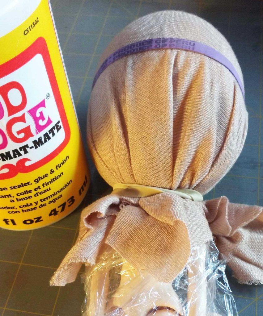 Blythe Doll Wig Cap Mod Podge
