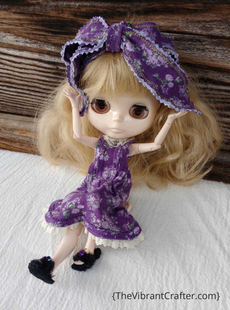 Make a Blythe Doll Wig