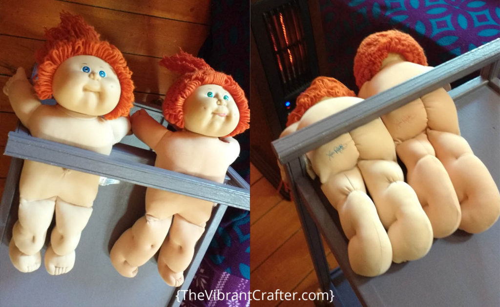 how to clean a cabbage patch doll