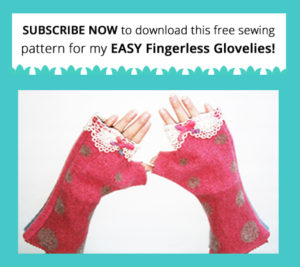 Free Flingerless Gloves Pattern