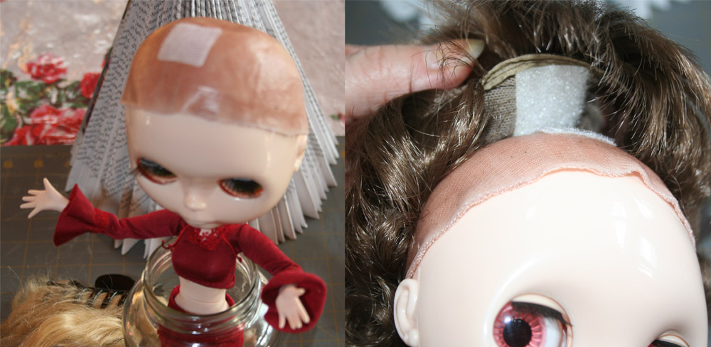 How To Make a Blythe Wig