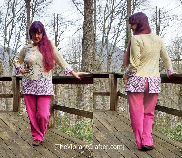 How to make an upcycled tunic top