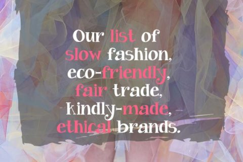 Mandy's List of Ethical Clothing Companies