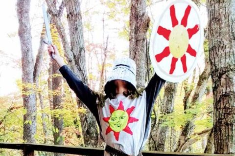 Halloween DIY Solaire Costume from Dark Souls