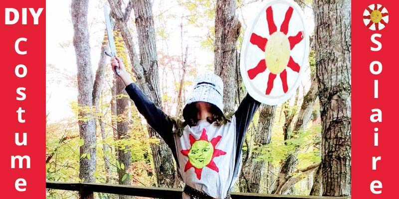 DIY Solaire costume from Dark Souls