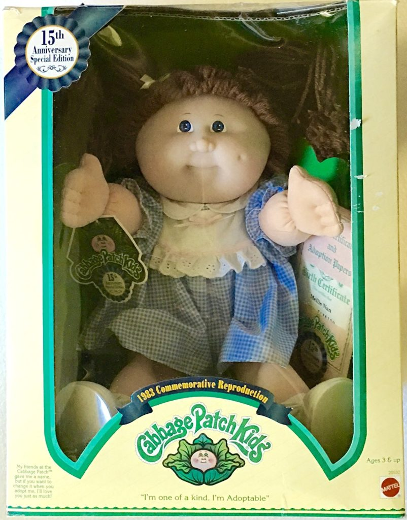15th Anniversary Cabbage Patch doll