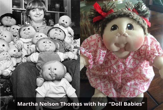 Martha Nelson Thomas Doll Babies