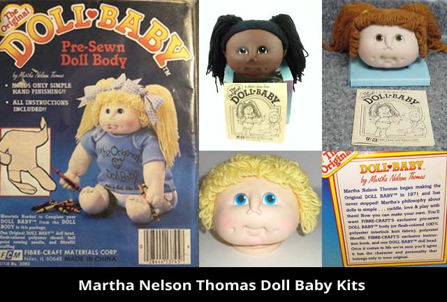 Martha Nelson Thomas Doll Baby Kits