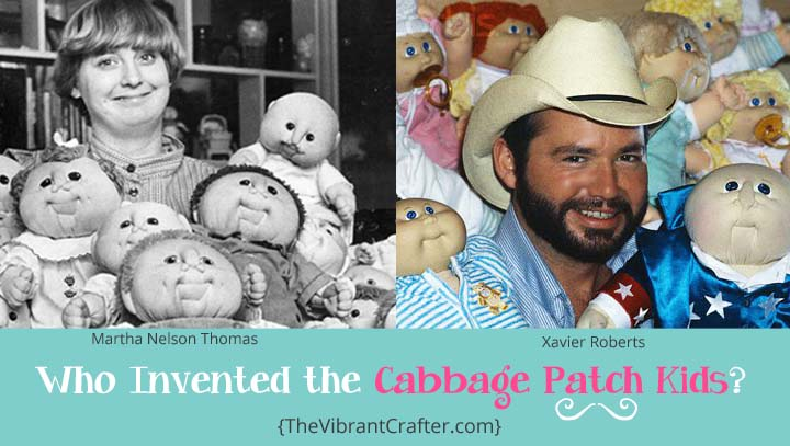 Who Invented The Cabbage Patch Kids