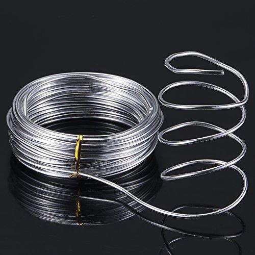 Tecunite 32 8 Feet Silver Aluminum Wire
