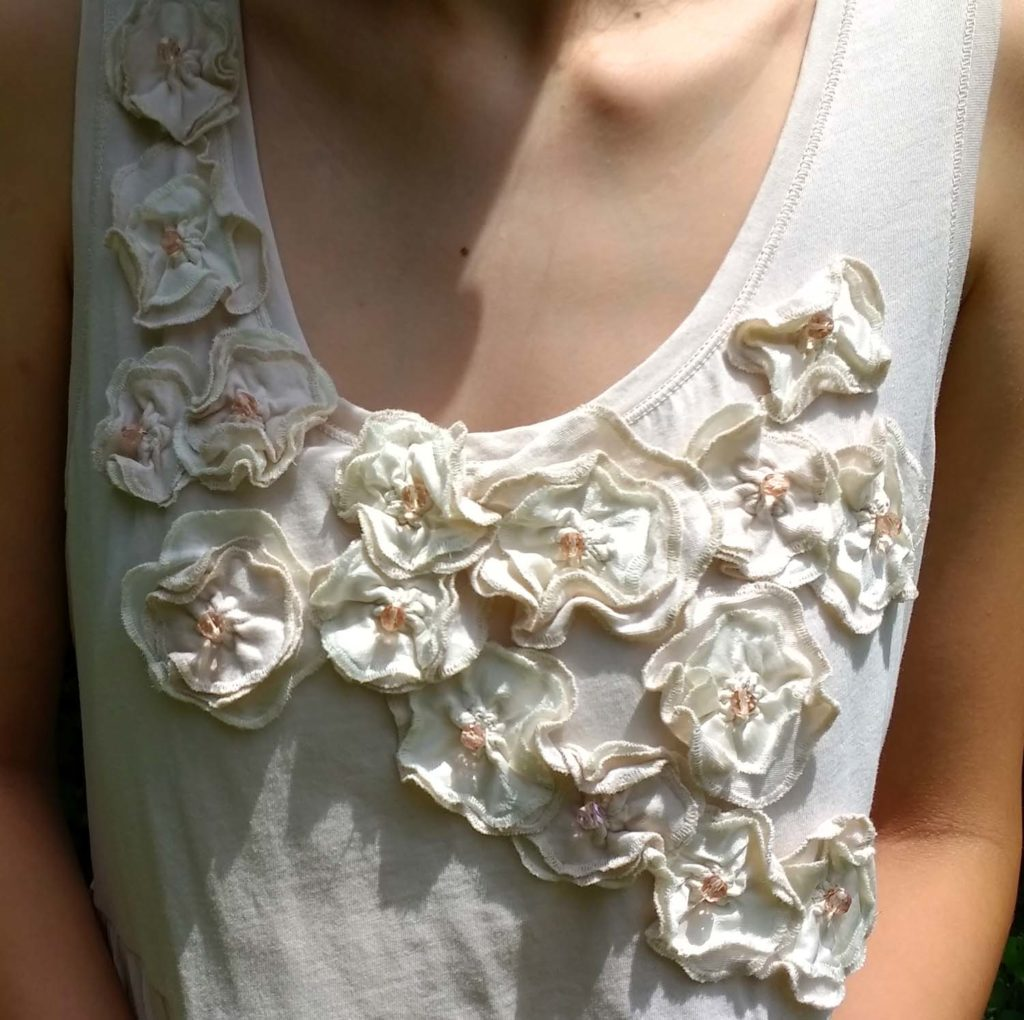beaded clothing - wedding gown