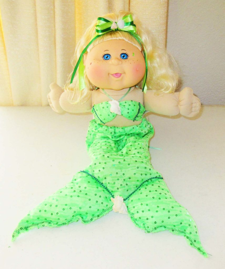 Cabbage Patch Mermaid
