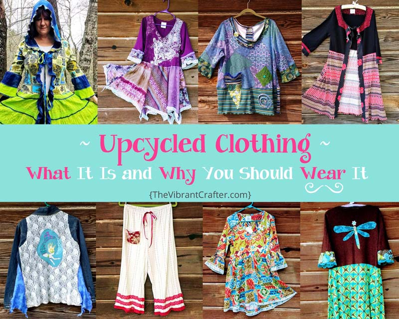 what is upcycled clothing