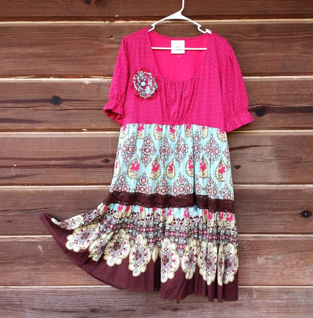easy upcycled dress