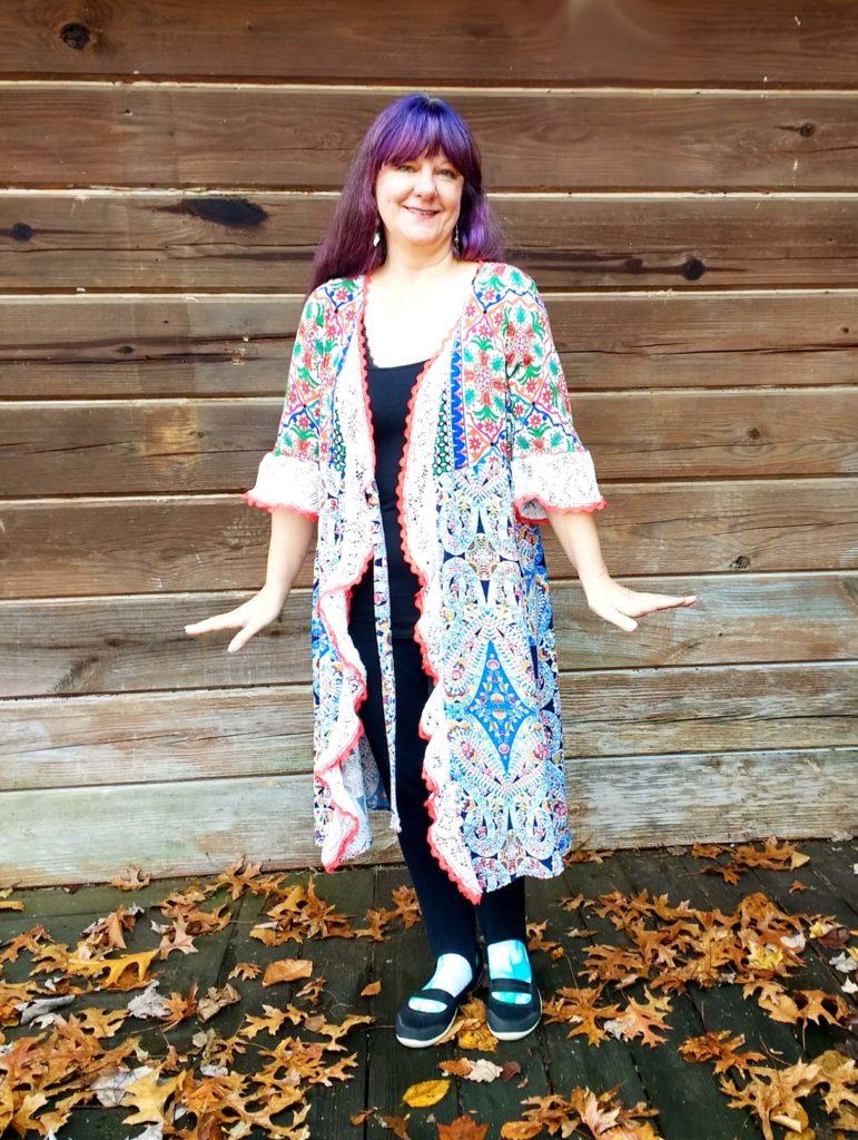 hand made kimono one size